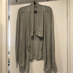 LOFT draped cardigan